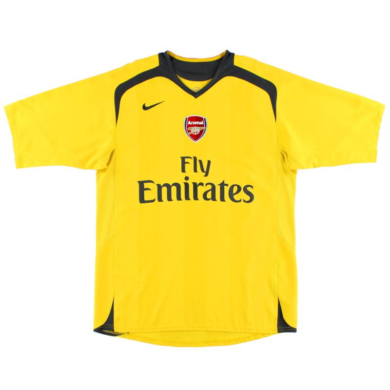 2006-07 Arsenal Away Shirt L