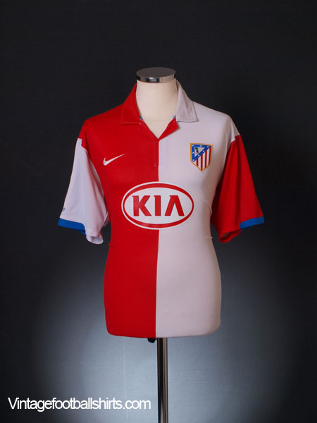 2006-07 Atletico Madrid Home Shirt XL