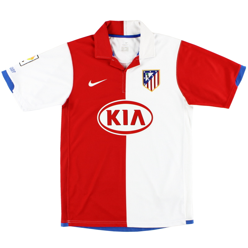 2006-07 Atletico Madrid Home Shirt S - 147311