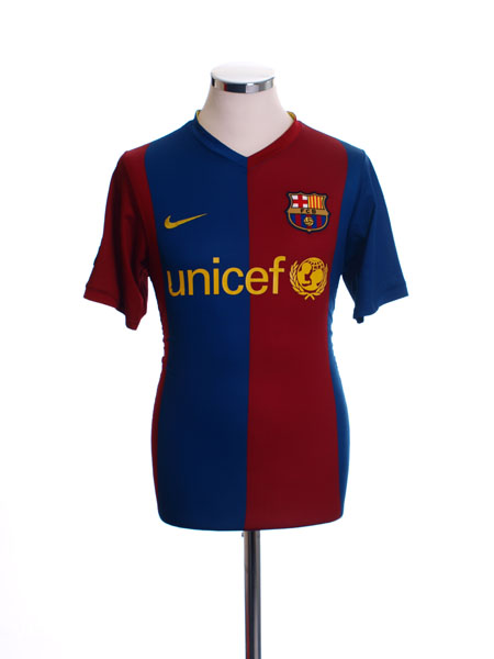 2006-07 Barcelona Home Shirt XL.Boys