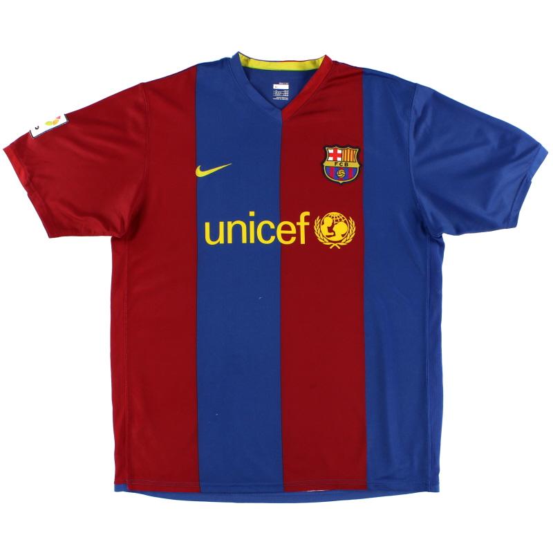 2006-07 Barcelona Nike Home Shirt S - 146980-426