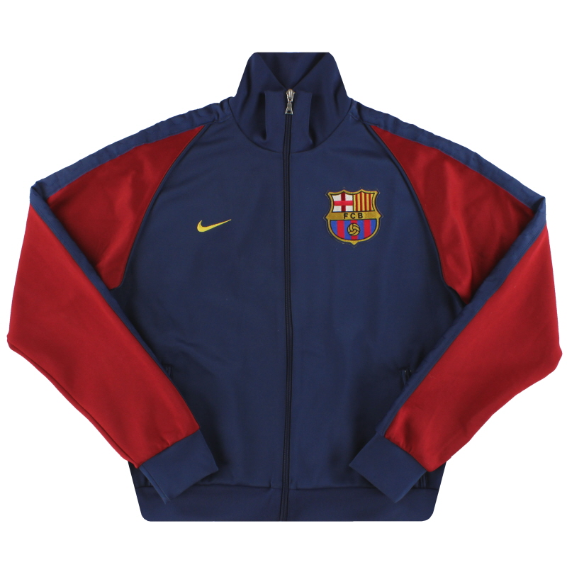2006-07 Barcelona Nike Track Jacket M - 193044