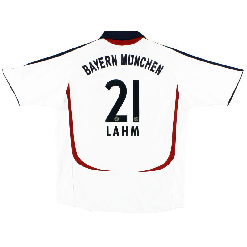 2006-07 Bayern Munich Away Shirt Lahm #21 XS - 054944