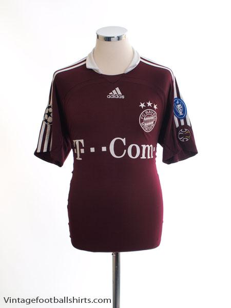 2006-07 Bayern Munich Champions League Shirt L - 093900