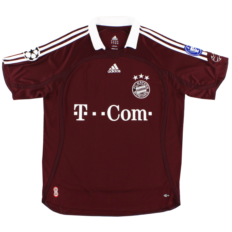 2006-07 Bayern Munich Champions League Third Shirt S