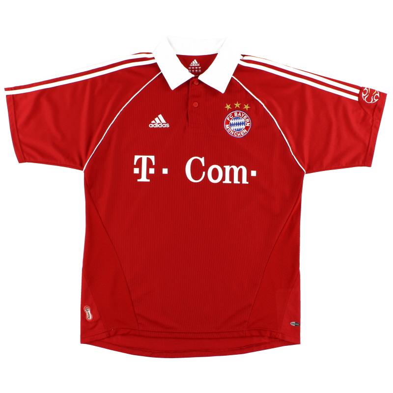 2006-07 Bayern Munich Home Shirt M - 093910