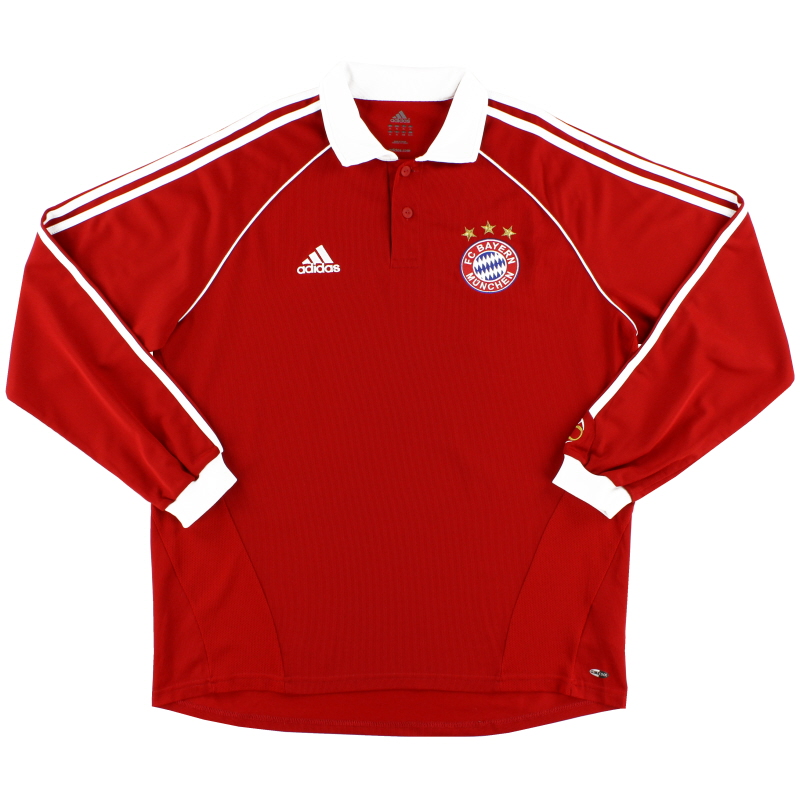 2006-07 Bayern Munich Player Issue Home Shirt L/S XL - 090879