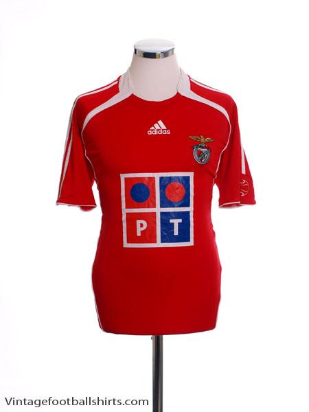 2006-07 Benfica Home Shirt S