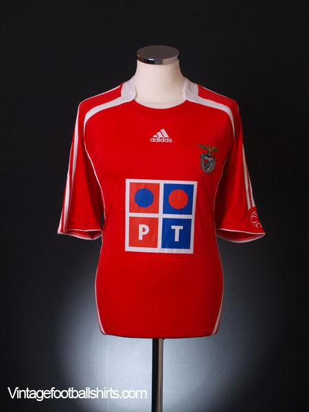 2006-07 Benfica Home Shirt XL