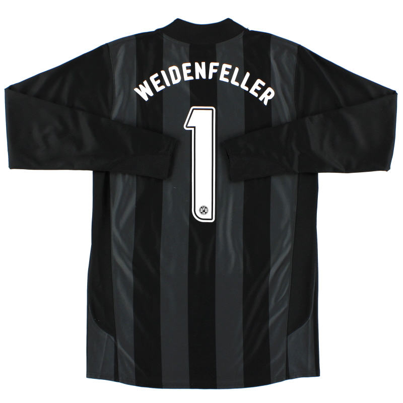 2006-07 Borussia Dortmund Player Issue Goalkeeper Shirt Weidenfeller #1 L