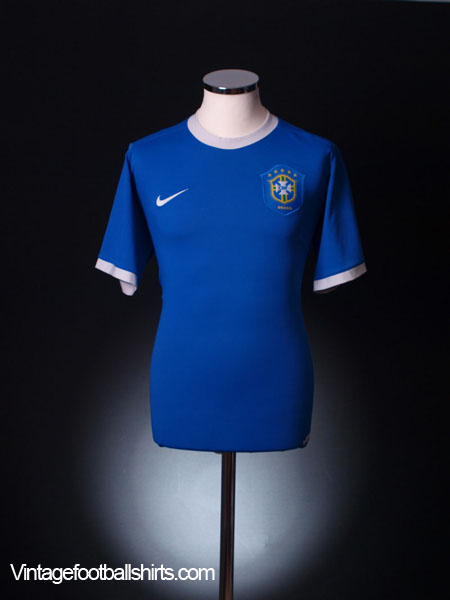 2006-07 Brazil Away Shirt L