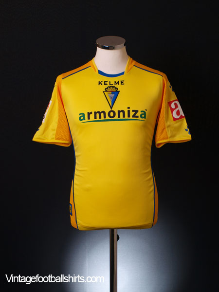 2006-07 Cadiz CF Home Shirt XS