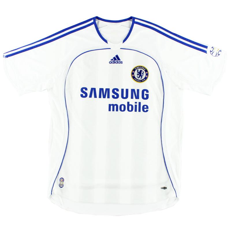 2006-07 Chelsea Away Shirt L.Boys - 061158