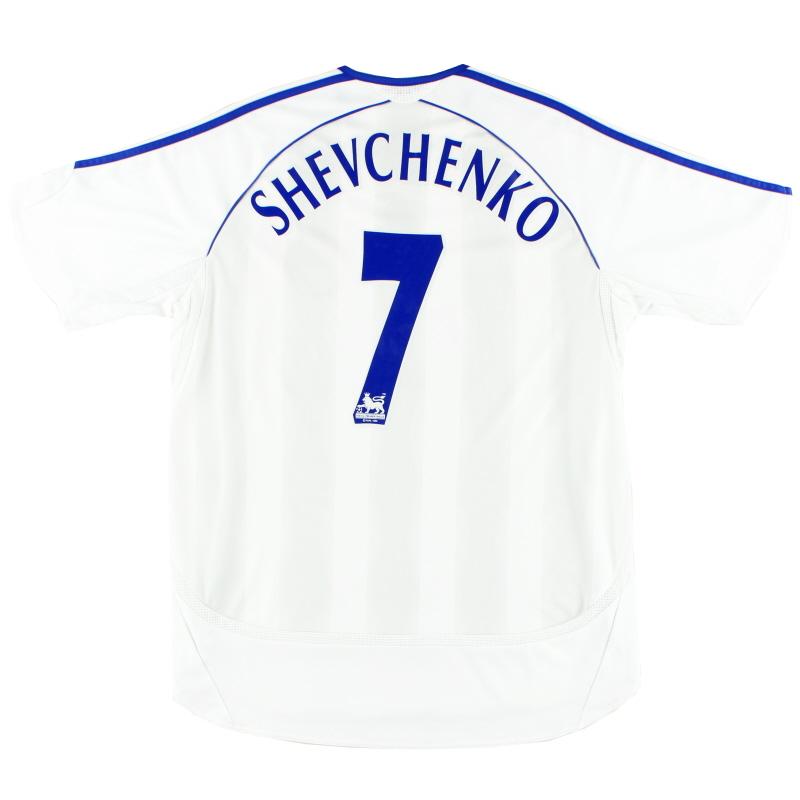 2006-07 Chelsea adidas Away Shirt Shevchenko #7 *Mint* M - 061200