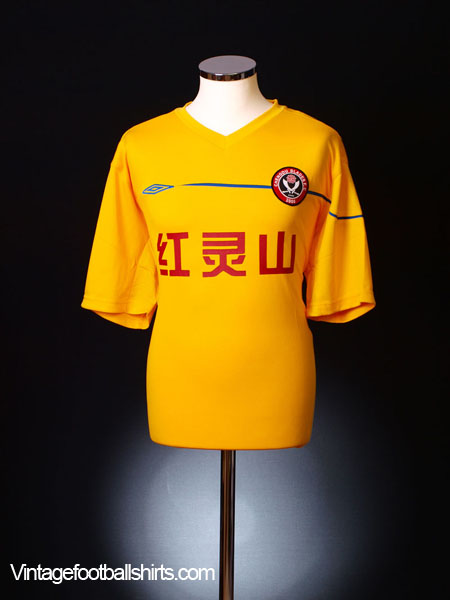2006-07 Chengdu Blades Away Shirt *BNIB* XL