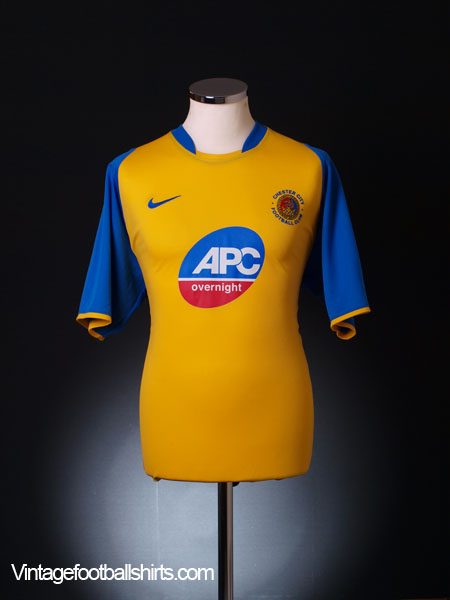 2006-07 Chester Away Shirt L