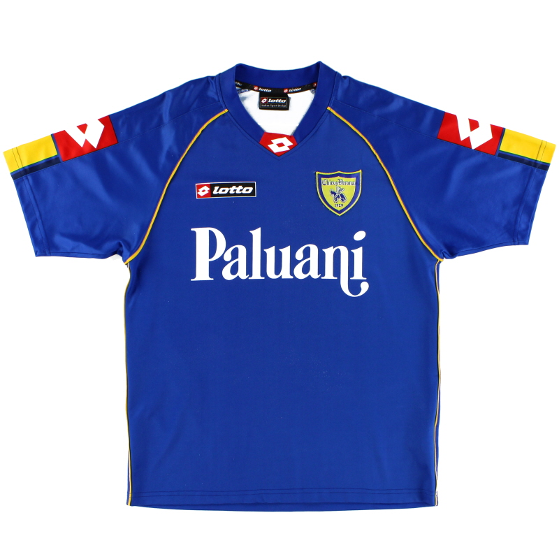 2006-07 Chievo Verona Lotto Training Shirt M