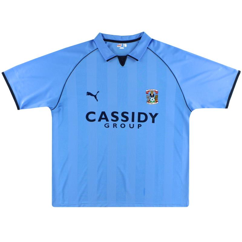 2006-07 Coventry Puma Home Shirt S