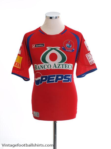 2006-07 CSD Municipal '70 Anos' Home Shirt M