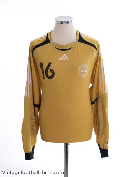 2006-07 Denmark Player Issue Goalkeeper Shirt #16 XL