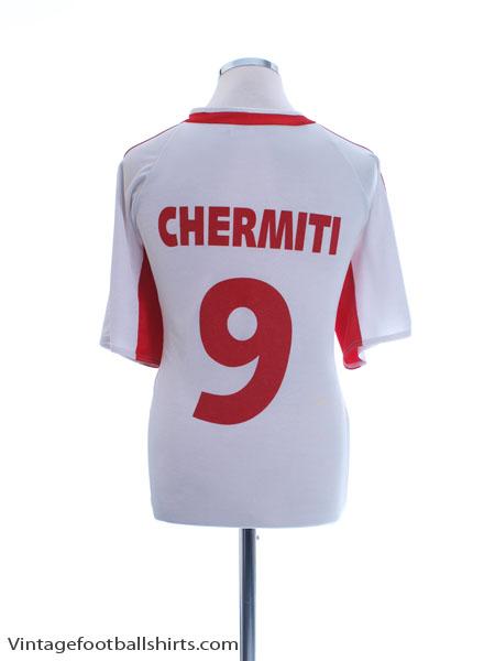 2006-07 Etoile Sportive du Sahel Home Shirt Chermiti #9 L