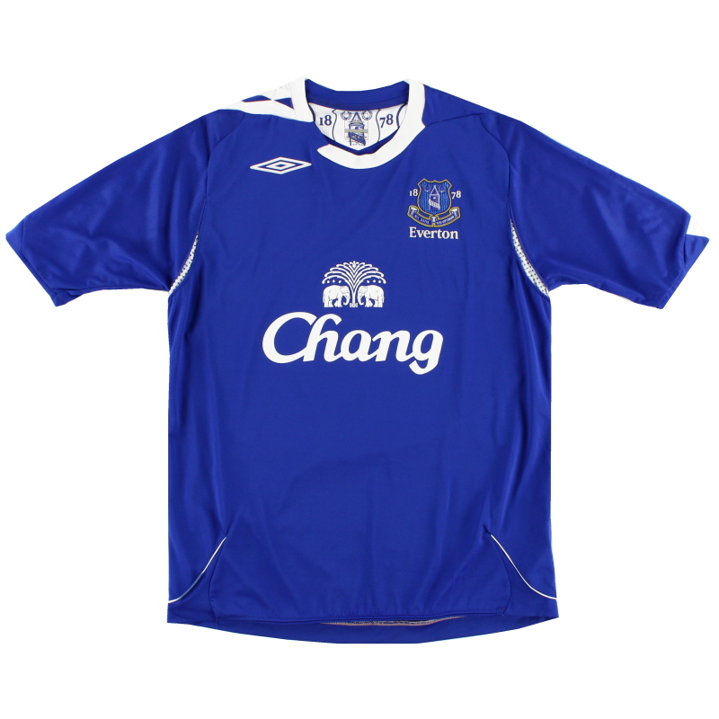 2006-07 Everton Home Shirt L