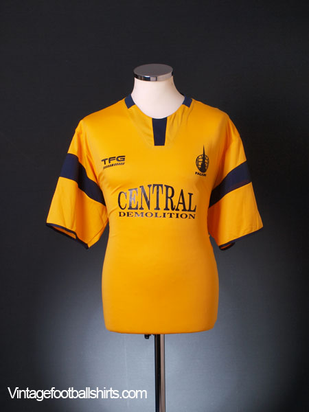 2006-07 Falkirk Away Shirt L