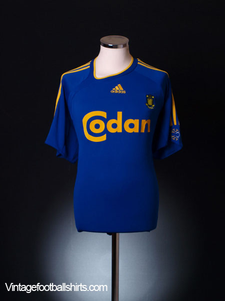 2006-07 FC Brondby Away Shirt L