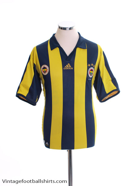 2006-07 Fenerbahce Centenary Reversible Home Shirt M