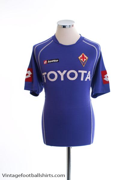2006-07 Fiorentina Home Shirt M