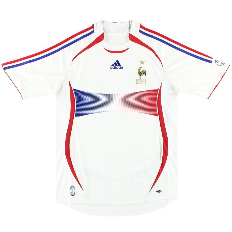 2006-07 France adidas Away Shirt M - 740125