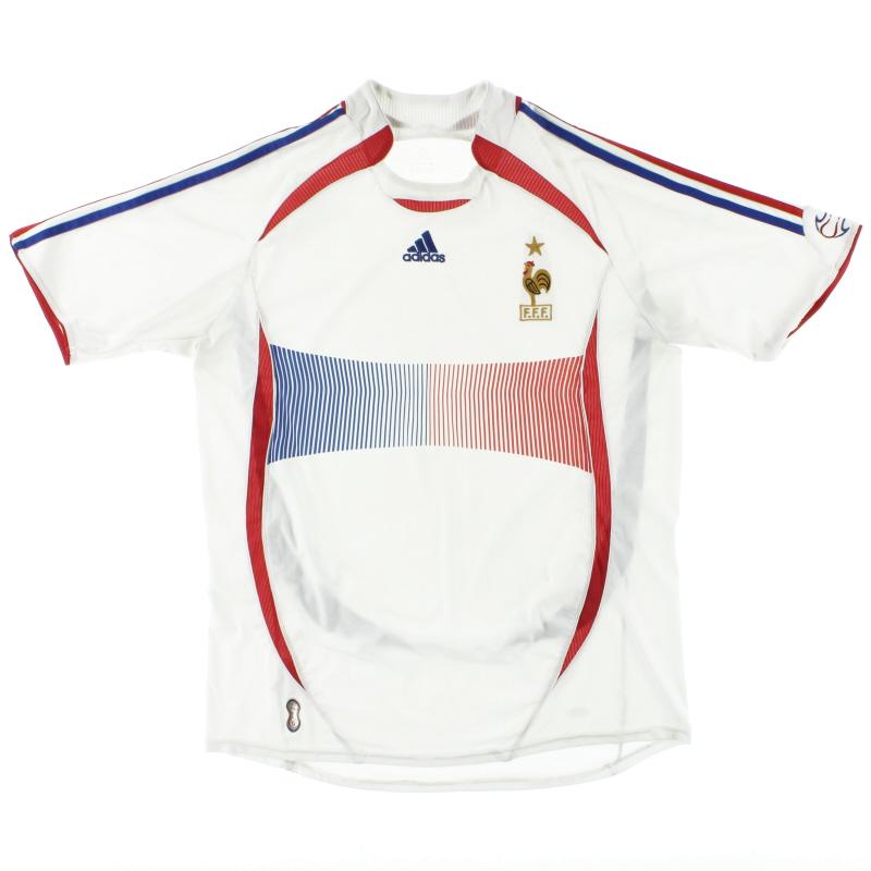 2006-07 France Away Shirt M - 740125