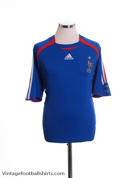 2006-07 France Home Shirt L - 740126