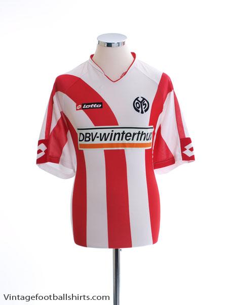 2006-07 FSV Mainz Home Shirt XXL