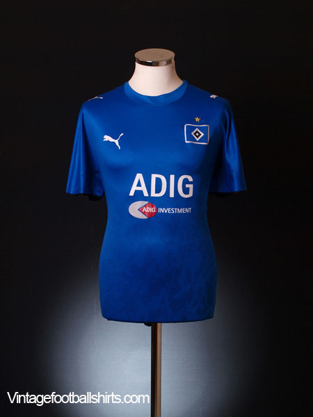 2006-07 Hamburg Away Shirt L