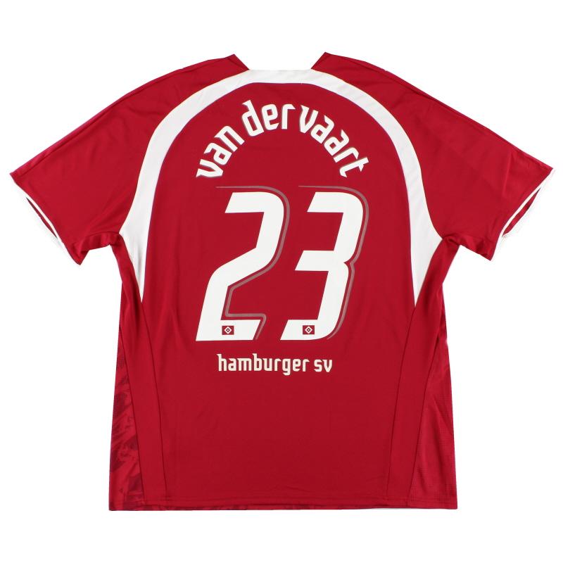 2006-07 Hamburg Third Shirt Van Der Vaart #23 XXL