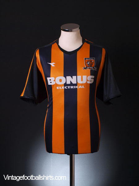 2006-07 Hull City Home Shirt L