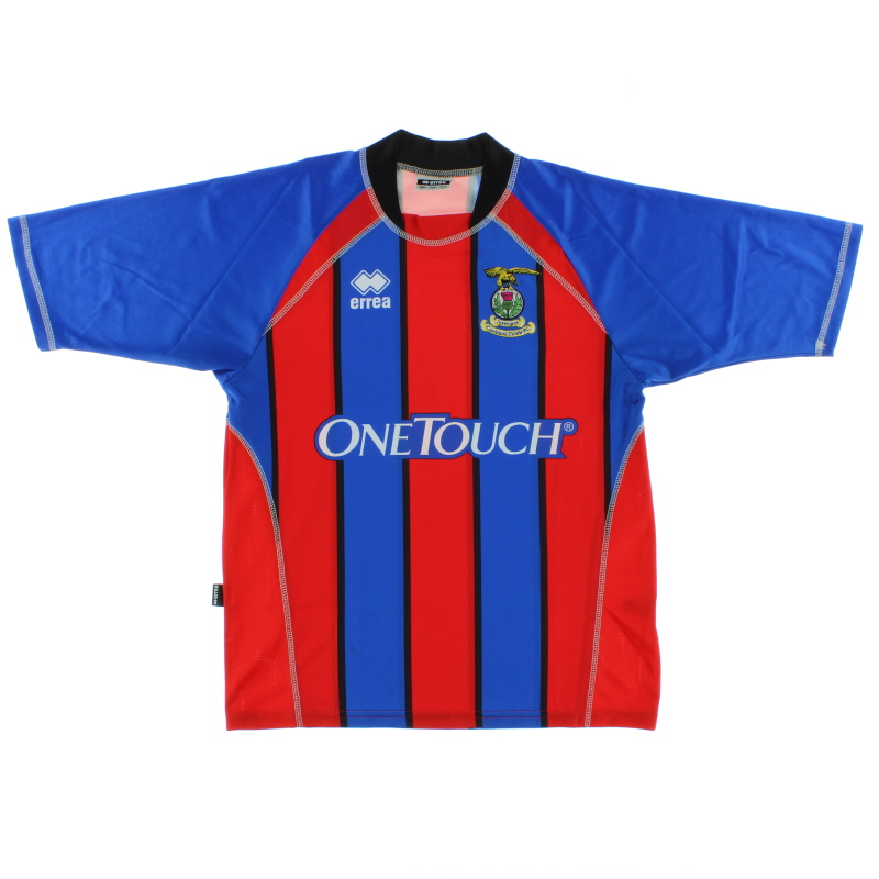 2006-07 Inverness Caledonian Thistle Home Shirt *Mint* S