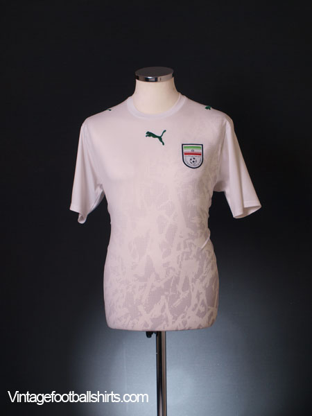2006-07 Iran Home Shirt M