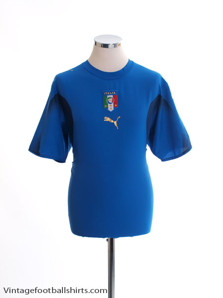 2006-07 Italy Home Shirt M