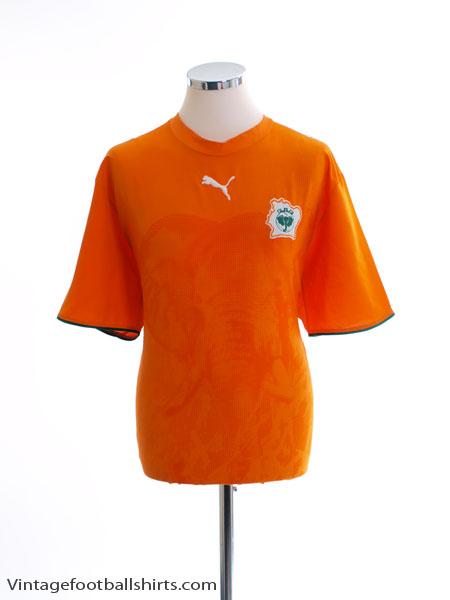 2006-07 Ivory Coast Home Shirt *Mint* M