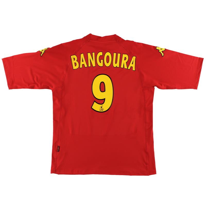 2006-07 Le Mans Kappa Home Shirt Bangoura #9 *BNIB* XXL