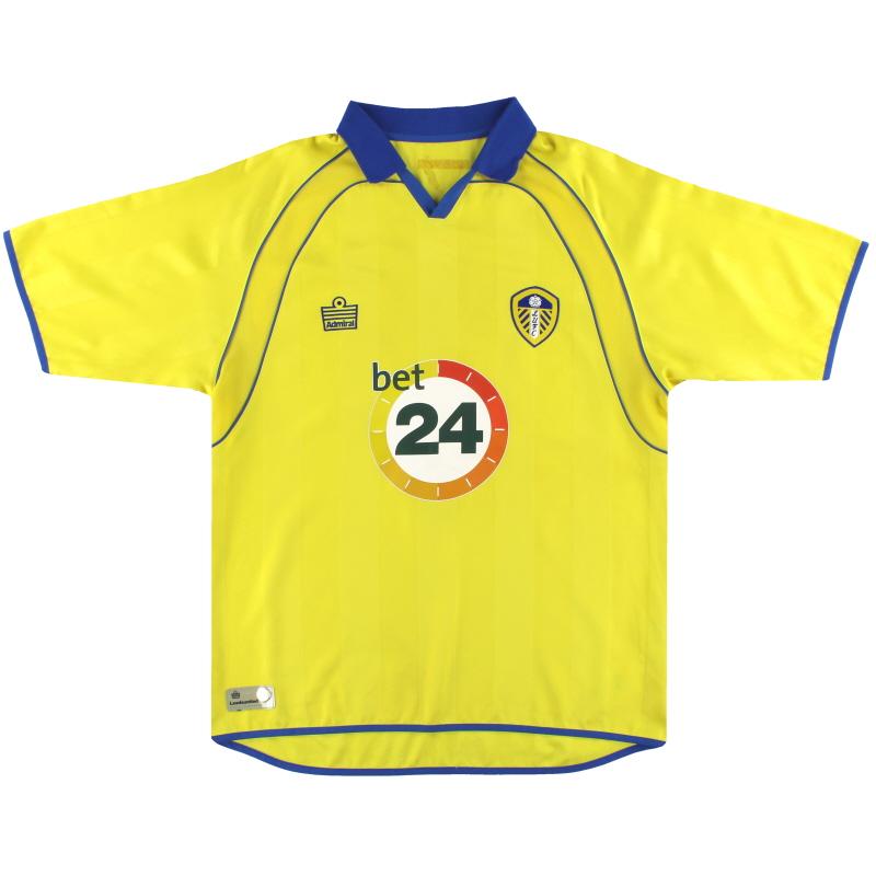 2006-07 Leeds Admiral Away Shirt L