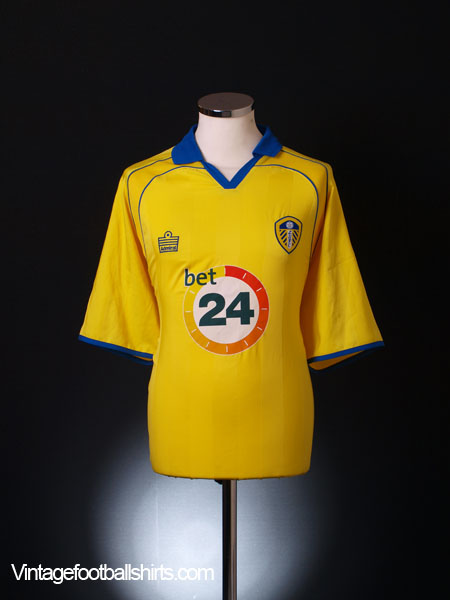 2006-07 Leeds Away Shirt XXL