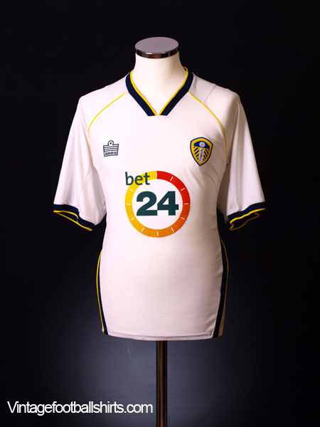 2006-07 Leeds Home Shirt L