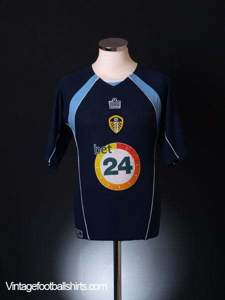 2006-07 Leeds Third Shirt S