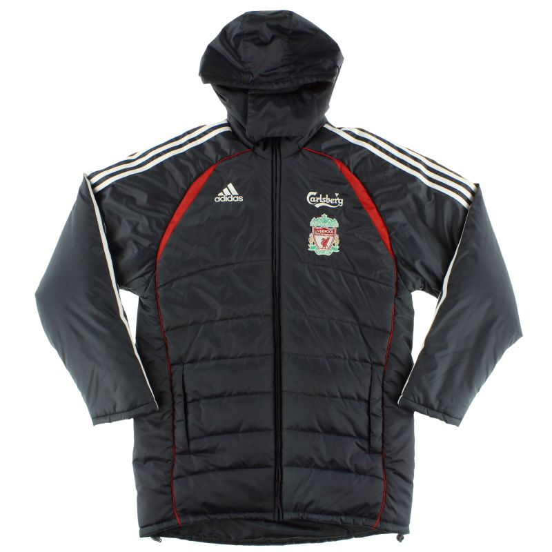2006-07 Liverpool adidas Padded Bench Coat *As New* S - 53397