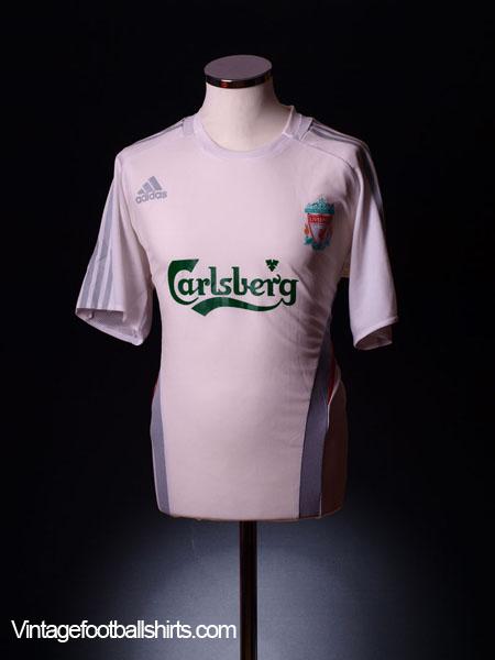 2006-07 Liverpool adidas Training Shirt XL