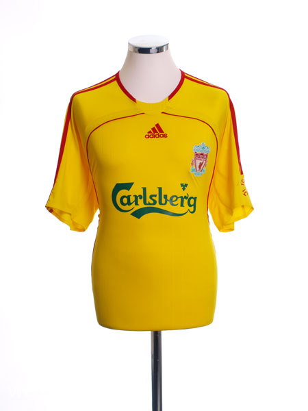 2006-07 Liverpool Away Shirt L - 053306
