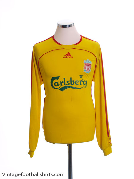 2006-07 Liverpool Away Shirt L/S M